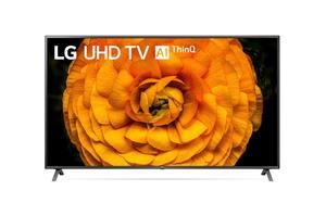 LG LED televizor 85UN85003LA, 4K Ultra HD, webOS Smart TV, 4K procesor α7 Gen3 AI, Magic remote, Crni