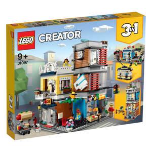 LEGO 31097 Prodavnica za kućne ljubimce i kafić u gradu