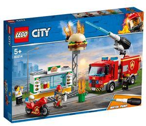LEGO 60214 Spašavanje burger bara od požara