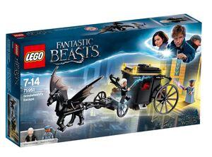 LEGO 75951 Grindelwaldovo bjekstvo