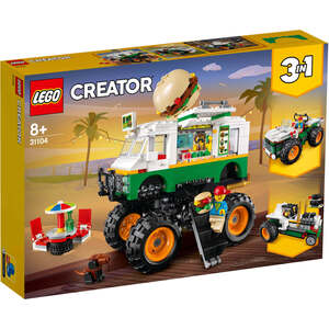 LEGO 31104  Čudovišni burger kamion