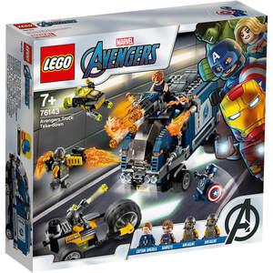 LEGO 76143  Osvetnici: uništenje kamiona