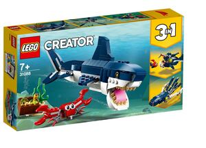 LEGO 31088 Bića iz morskih dubina