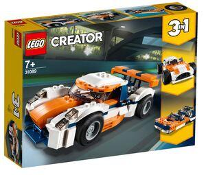 LEGO 31089 Trkaći auto boje zalaska