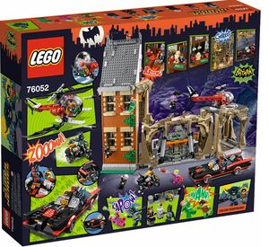 LEGO 76052 Batman™ Klasik TV Serija – Batmanova špilja