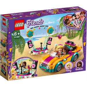 LEGO 41390  Andrein auto i pozornica
