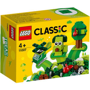 LEGO 11007  Kreativne zelene kockice