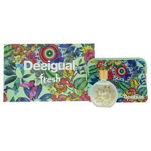 Desigual Fresh EDT Gift Set : EDT 100 ml - Vanity Bag, ženski poklon set