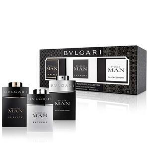 Bvlgari Man EDP Gift Set : Black EDP 15 ml - Extreme EDT muški poklon set