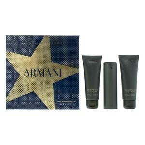 Emporio Armani He EDT Gift Set : EDT 50 ml - Shower Gel 2 x 75 ml, muški poklon set