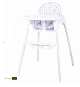 FreeON Stolica za hranjenje LARS bijela 33072