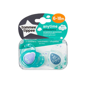 Tommee Tippee Anytime silikon dude 6-18mj