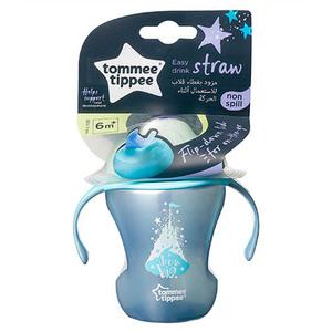 Tommee Tippee Easy drink čaša sa slamkom 150ml 6+mj Plava