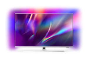 PHILIPS LED televizor 58PUS8545/12, 4K Ultra HD, Android, Smart, Ambilight, Srebrni