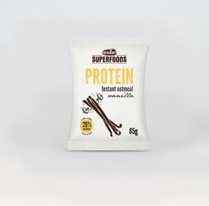 Encian Proteinska zobena kaša vanilija 65g