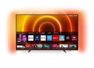 Philips LED televizor 58PUS7805/12, 4K Ultra HD, Saphi, Smart, Crni