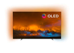 PHILIPS OLED televizor 65OLED804/12, 4K Ultra HD, Android, Smart, Ambilight, Srebrni