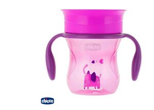 Chicco Čaša PERFECT 12m+, Pink
