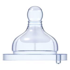 Chicco Fiziološka  duda za bocu,silikon, 1  rupa,0m+ ,2kom
