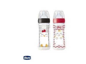 Chicco Plastična bočica 250ml, Popfriends