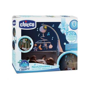 Chicco Vrtuljak glazbeni Next2Dreams, plavi