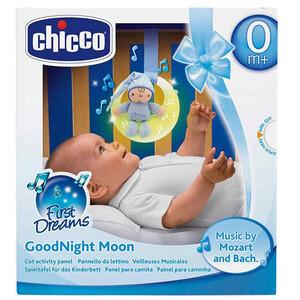 Chicco Glazbeni mjesec, plavi, 0m+
