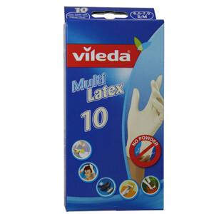 VILEDA Jednokratne rukavice Multilatex 10 S/M
