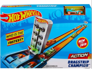 Hot Wheels STAZA DRAGRACE ŠAMPION