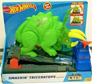 HOT WHEELS CITY RAZBIJAČ TRICERATOPS SET