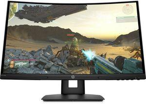 Monitor HP 9FM22AA, X24C, Zakrivljeni, FULL HD 1920x1080, 23,6 VA, 300 cd/m2, AMD FreeSync, HDMI, DP, 144Hz, 4ms