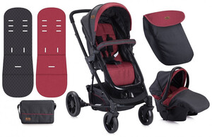 Lorelli Kolica S-500 black red set 2u1