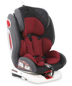 Lorelli Autosjedalica ROTO Isofix 0-36 black red