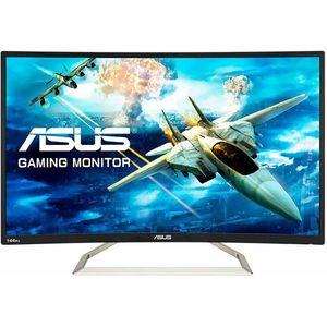 Monitor ASUS VA326HR, Zakrivljeni, FULL HD 1920x1080, 31,5 VA, 300 cd/m2, AMD FreeSync, HDMI. VGA, 144Hz, 4ms