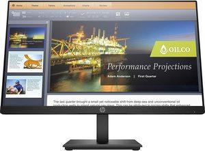 Monitor HP 5QG34AA P224, FULL HD 1920x1080, 21.5 IPS, 250 cd/m2, HDMI, DP, VGA, 60Hz, 5ms