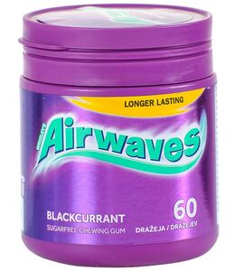Airwaves blackcurrant 60 dražeja