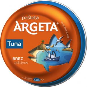 Argeta tunina pašteta 95g