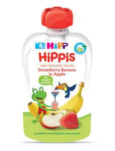 Hipp kašica jagoda banana jabuka 100g