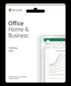 Microsoft Office Home and Business 2019 English CEE, T5D-03347