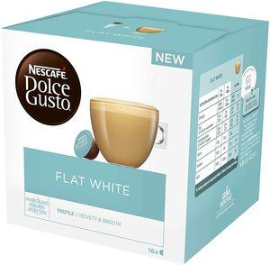 Nescafe DolceGusto kafa Flat White 112g