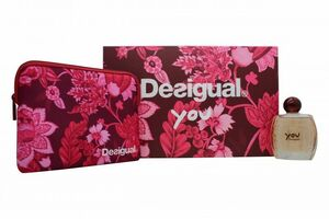 Desigual You EDT Gift Set : EDT 100 ml - Vanity Bag, ženski poklon set
