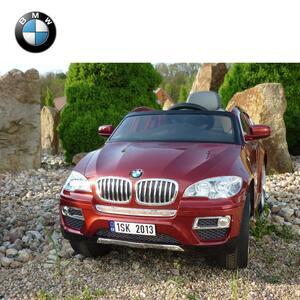 Licencirani BMW X6 crveni- auto na akumulator
