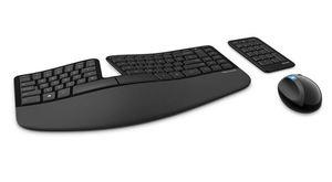 Tastatura i miš Microsoft FPP Sculpt Ergonomic Desktop, L5V-00021