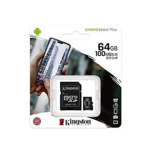 Memorijska kartica Kingston microSDHC 64GB + Adapter