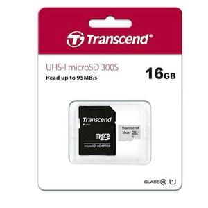 Memorijska kartica Transcend microSDHC 16GB + Adapter