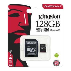 Memorijska kartica Kingston microSDHC 128GB + Adapter