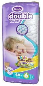 Violeta pelene  double care air dry 48 6 junior+16kg 3870128010314