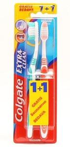 Colgate extra clean 1+1 cetkica za zube  5900273112521