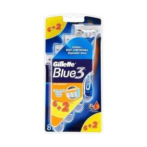 Gillete brijac jednokratni blueiii 6+2kom 7702018032136