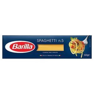 Barilla špageti n5 500gr 8076800195057