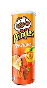Pringles Čips paprika 165g 18*1 5053990106868